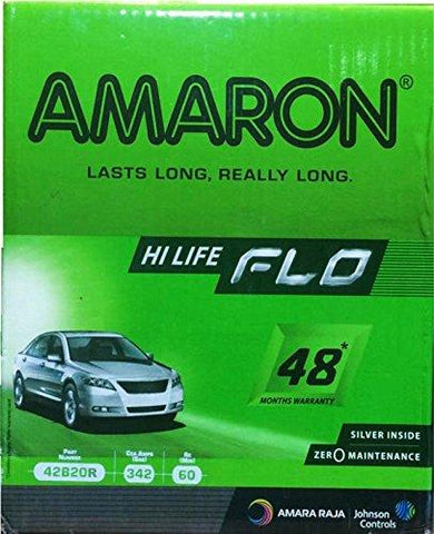 Amaron 42B20R 35Ah Battery for Car-Automotive Parts and Accessories-Amaron-Helmetdon