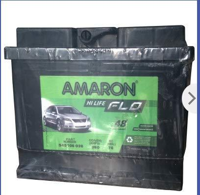 Amaron AAM-FL-545106036 DIN45 Battery-Automotive Parts and Accessories-Generic-Helmetdon