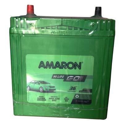 Amaron AAM-GO-00038B20R-Automotive Parts and Accessories-Generic-Helmetdon
