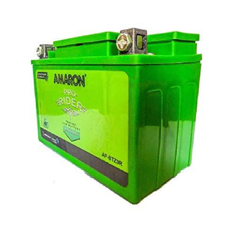 AMARON AP-BTZ9R 8 Ah Battery for Bike-Automotive Parts and Accessories-Amaron-Helmetdon