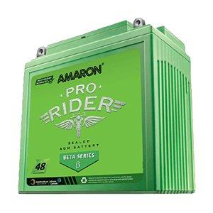 AMARON BATTERY AP-BTZ5L IN GREEN COLOUR-Automotive Parts and Accessories-Amaron-Helmetdon