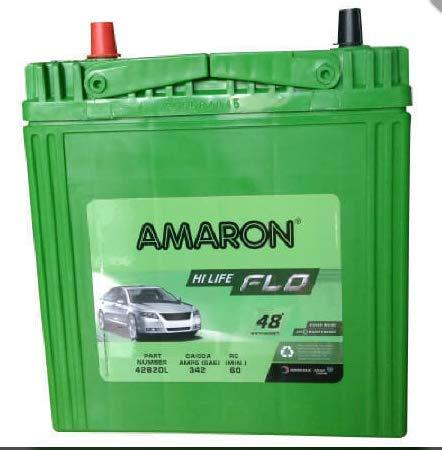 Amaron Battery (Green)-Automotive Parts and Accessories-Generic-Helmetdon