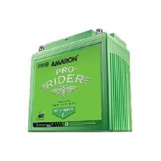 Amaron (Pro Rider Beta Series) Amaron 2.5Ah Sealed Battery - Zero Maintenance - Honda, Hero Motors-Amaron (PRO RIDER BETA SERIES)-Helmetdon