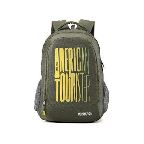 d82ee65c44df American Tourister 32 Ltrs Olive Casual Backpack (AMT Fizz SCH Bag 03 -  Olive)