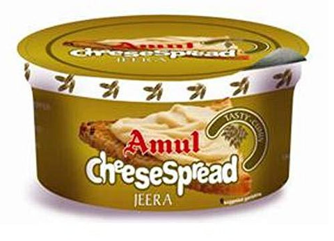 Amul Cheese Spread Jeera, 200g-Grocery-Amul-Helmetdon