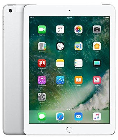 Apple iPad Tablet (9.7 inch, 128GB, Wi-Fi + 4G LTE + Voice Calling), Silver-Computers and Accessories-Apple-Helmetdon