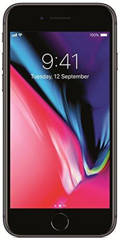 Apple iPhone 8 Plus (Space Grey, 256GB)-Apple-Helmetdon