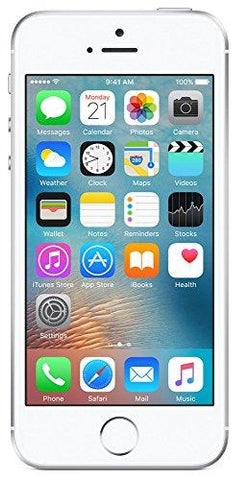 Apple iPhone SE (Silver, 16GB)-Apple-Helmetdon