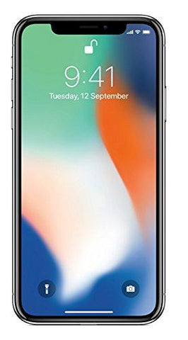 Apple iPhone X (Silver, 256GB)-Apple-Helmetdon