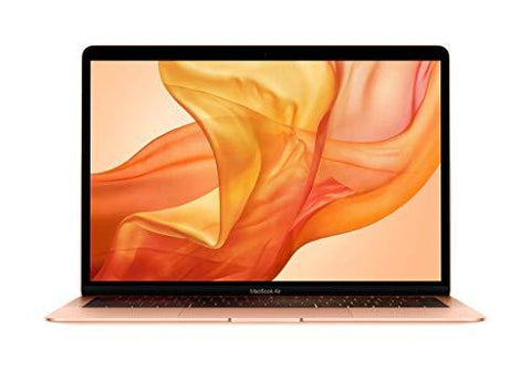 Apple MacBook Air (13-inch, Latest Model, 8GB RAM, 128GB Storage, 1.6GHz Intel Core i5) - Gold-Personal Computer-Apple-Helmetdon