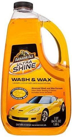 Armor All 10346US Ultrashine Wash and Wax (1888 ml)-Armor All-Helmetdon