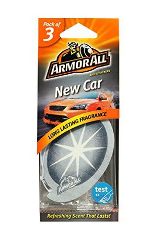 Armor All 78522US New Car Hanging Car Air Freshener (Set of 3)-Armor All-Helmetdon