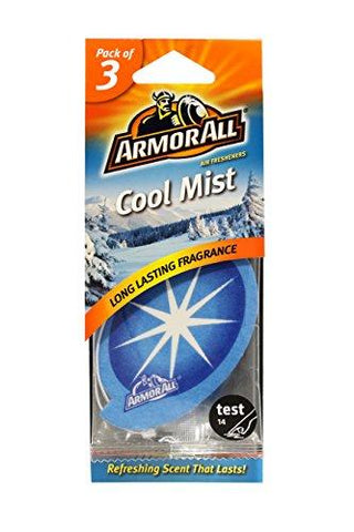 ArmorAll 14139V1 Cool Mist Air Freshener (Pack of 3)-Armor All-Helmetdon
