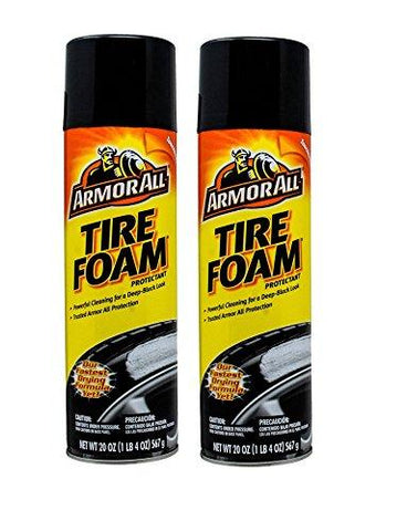 Armorall Tire Foam 567 gm - pack of 2-Armor All-Helmetdon