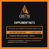 AS-IT-IS Nutrition Pure Creatine Monohydrate for Muscle Building (250 gm)-Health and Beauty-AS-IT-IS Nutrition-Helmetdon