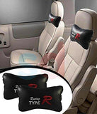 Auto Car Winner Type R Black Car Neck Rest Cushion for Wagon R Stingray-AUTO CAR WINNER-Helmetdon