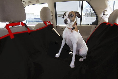 Auto Pearl Pet Seat Cover for All Cars (Black)-Autopearl-Helmetdon