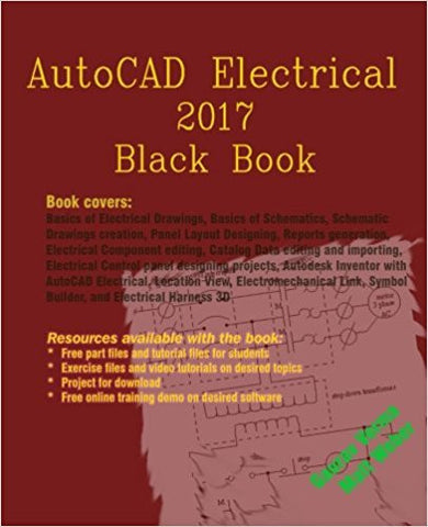 AutoCAD Electrical 2017 Black Book-Books-TBHPD-Helmetdon
