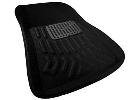 Autofurnish 3D Car Floor Mats (Black) Complete Set For Hyundai I20 Elite-Autofurnish-Helmetdon