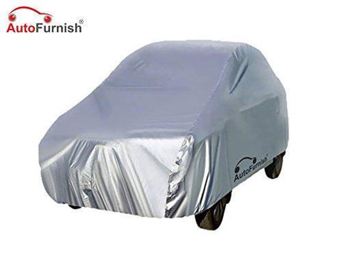 Autofurnish AF20189 Car Body Cover for Maruti Wagon-R (Silver)-Car Accessories-Autofurnish-Helmetdon