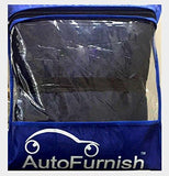 Autofurnish GEN_Ubra_108 Stylish Stripe Body Cover for Maruti Swift (Blue)-Car Accessories-Autofurnish-Helmetdon