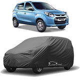 Autofurnish Matty Grey Car Body Cover For Maruti Alto 800 - Grey-Car Accessories-Autofurnish-Helmetdon