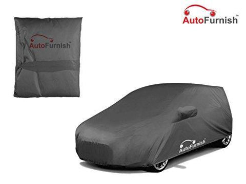 Autofurnish Premium Grey Car Body Cover For Hyundai Santro Xing - Grey-Car Accessories-Autofurnish-Helmetdon