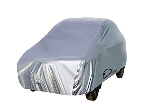 Autofurnish Silver Car Body Cover For Ford Fiesta - Silver-Car Accessories-AutoFurnish-Helmetdon