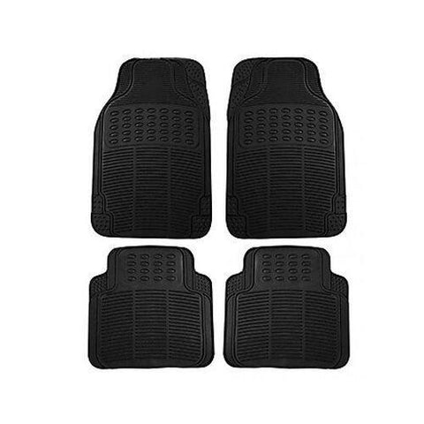 Autofurnish Universal Car Floor Mats (Black) Set Of 4-Car Accessories-Autofurnish-Helmetdon