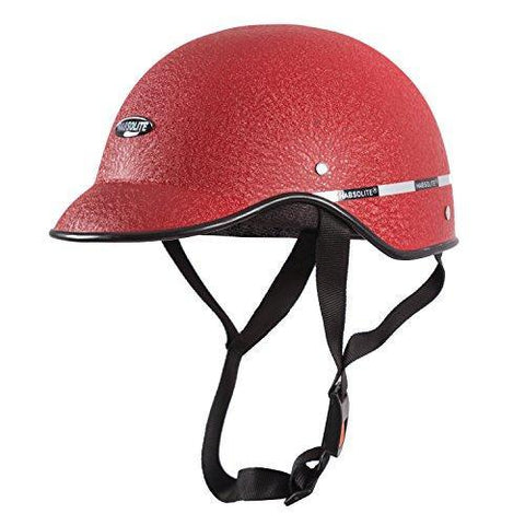 Autofy Habsolite All Purpose Safety Helmet with Strap for bikes (Red, Free Size)-Helmets-Autofy-Helmetdon