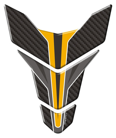 Autographix 1004925 Carbon Wing Bike Tank Pad Graphic Decal-Autographix-Helmetdon