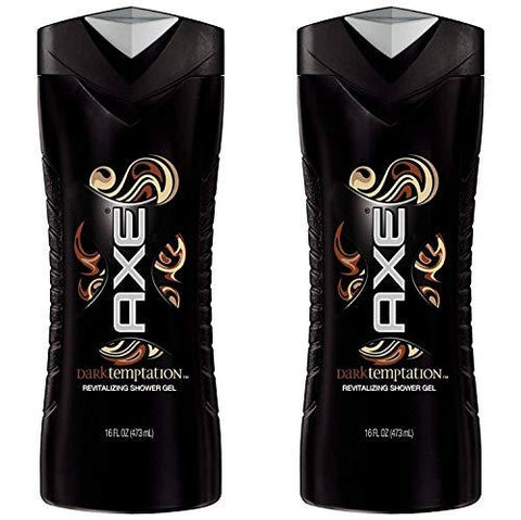 Axe Shower Gel, Dark Temptation 16 Oz (Pack of 2) : Pack of 2-CE-AXE-Helmetdon