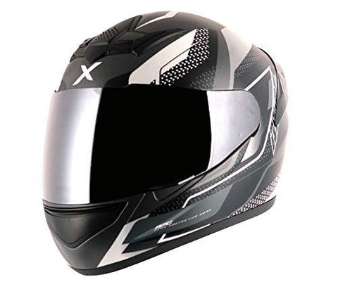 Axor Rage Rusty Dull Athena Grey Silver Helmet-L-Automotive Parts and Accessories-axor-Helmetdon
