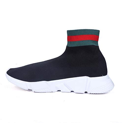 wholesale dealer big discount 100% top quality Balenciaga Speed Trainer Black/Green Imported Sneakers (44 ...