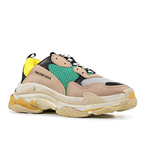 "BALENCIAGA Triple S""Yellow Green 2018 Release (Euro 42)-Sports-Helmet Don-Helmetdon"