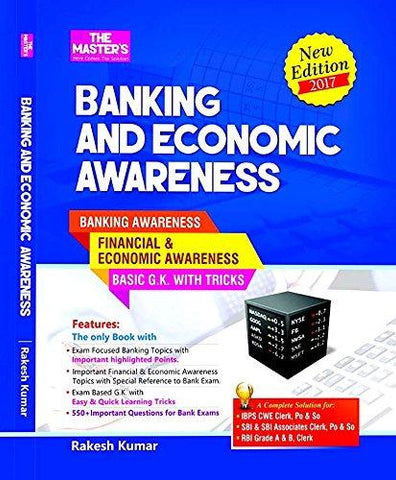 Banking And Economic Awareness-Book-THE MASTER'S PUBLICATIONS-Helmetdon