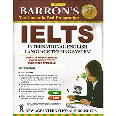 Barron`s IELTS (2 CD Free)-Books-TBHPD-Helmetdon