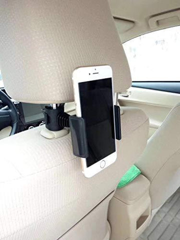 BeFunky RC1 360 Degree Rotating Rear Back Seat Holder Stand for Phone GPS (Universal)-CE-BeFunky-Helmetdon