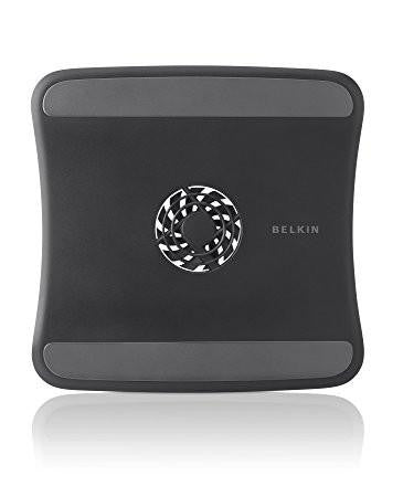 Belkin F5L055BTBLK Laptop Cooling Pad with Patented Air-flow Wing (Black)-Computers and Accessories-Belkin-Helmetdon