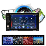 BESTVECH SWM 2Din 6.2in HD Bluetooth Car Stereo Audio Radio MP3 MP4 MP5 Video Player-BESTVECH-Helmetdon