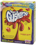 Betty Crocker Fruit Gushers Strawberry Splash, 153g-Grocery-Betty Crocker-Helmetdon