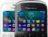 BlackBerry Curve 9320 (Black)-BlackBerry-Helmetdon
