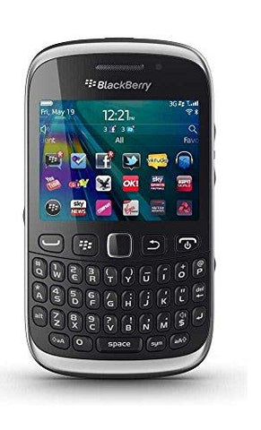 Blackberry Curve 9320 Imported Version (Black)-BlackBerry-Helmetdon
