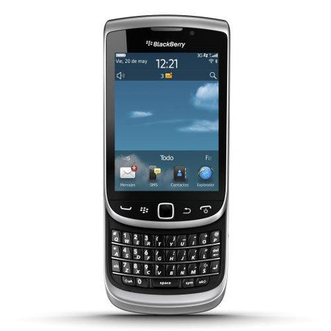 BlackBerry Torch 9810 (Zinc Grey)-BlackBerry-Helmetdon