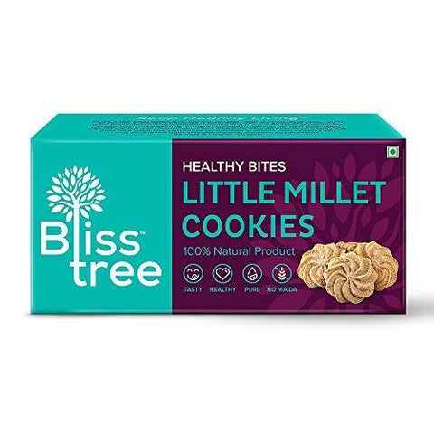 Bliss Tree Little Cookies_75gm,(Pack of 5)-Grocery-Bliss Tree-Helmetdon