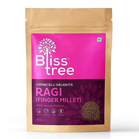 Bliss Tree Raagi Vermicelli_Finger Millet_150gm,(Pack of 5)-Grocery-Bliss Tree-Helmetdon