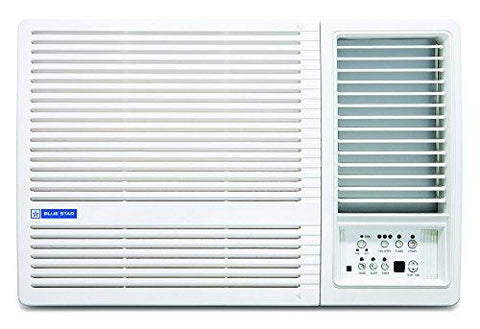 Blue Star 1.5 Ton 3 Star Window AC (Copper, 3W18LC, White)-Blue Star-Helmetdon