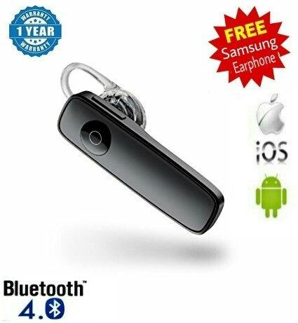 Bluetooth Headset With Mics For All Smart Phones Android Mobiles Sams Helmet Don