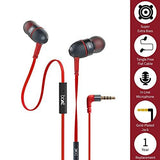 boAt BassHeads 228 Extraa Bass with Pouch in Ear Wired Earphones with Mic (Red)-Single Detail Page Misc-Boat-Helmetdon