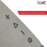 boAt Stone SpinX 2.0 Portable Wireless Speaker with Extra Bass (Granite Grey)-CE-Boat-Helmetdon